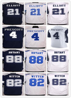 Wholesale Dallas Cowboys Dak Prescott Ezekiel Elliott Tony Romo Emmitt Smith Sean Lee Jason Witten Dez Bryant elite jerseys
