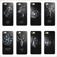 apple phone games - Game Of Thrones Fashion TV Retro Phone Case Black Mobile Phone Bag Cover For iphone S S