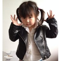 Jackets baby clothes direct - Manteau Fille Direct Selling Time limited Autumn Brand Leather Jacket Toddler Baby Coat Girl Kids Infantil Menina Clothing