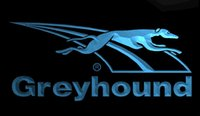 b bus - LS942 b Greyhound Dog Bus Travel Neon Light Sign jpg