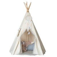 Wholesale Free Love Indian style kids play tent indian teepee children playhouse children play room teepee