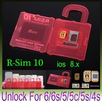 Wholesale R SIM RSIM10 R SIM10 Perfect SIM Card Unlock Official IOS x x Original RSIM for iphone plus I6 S C S GSM CDMA WCDMA G G