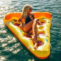 beach ball fun - NEW Swimline Swimming Pool Inflatable Pizza Slice Float Raft Fun Water Toy