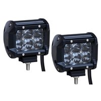Wholesale 2PCS w LED Work Light Spot LED Light Bar Off Road Led Lights Truck Car SUV Jeep Boat ATV Driving Lamp