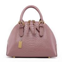alligator leather purse - 2016 New Fashion Women s Handbag Totes Purses Brand New PU Leather Lady Bag Crocodile Leather Shoulder Bags Retro Handbag Bag Messenger Bag