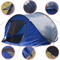 Wholesale Waterproof Person Camping Tent Automatic Pop Up Quick Shelter Outdoor Hiking