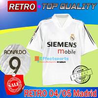 beckham real madrid jersey - Retro Real Madrid soccer jersey vintage classic MADRID ZIDANE BECKHAM RONALDO CARLOS RAUL camisetas camisa de futebol shirts