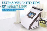 Wholesale 5 in1 Ultrasonic Cavitation Slimming Machine Vacuum Bipolar Sixpolar Fourpolar Tripolar Radio Frequency Color Light RF Equipment