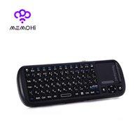Wholesale IPazzPort KP Wireless Keyboard G RF Mini QWERT Keyboard Multimedia Control Key For Android Google TV box Pad PC Windows