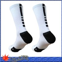 Wholesale 2016 new hot selling elite socks cotton sport socks cotton towel men basketball Socks long custom elite sock deodorant for men