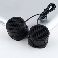 Wholesale 2 x Watts Super Power Loud Dome Tweeter car Speakers for Car W