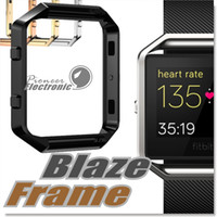 accessories list - For Fitbit Blaze Accessory Watch List Box Watchcase Frame Holder Case Cover Metal Band For Fitbit Blaze Smart Watch