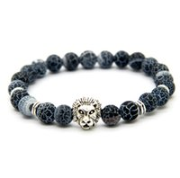 best weather - New Design mm Weathering Agate Stone Beads Gold Silver Plated Lion Owl Helmet Best Gift Bracelets
