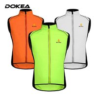 Wholesale Outdoor Sports Cycling Sleeveless Vest Mountain Climbing Cycling Jacket Windproof Breathable T shirt Bike MTB Bicycle Sportswear