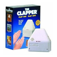 Wholesale with Original Retail Box The Clapper Sound Switch On Off Hand Clap on Electronic Garget Light High Quality