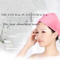 bamboo bathroom sets - Mikrofiber Fast Dry Hair Towel Bamboo Fiber Bathroom Toallas Strandlaken Serviette Bath Ttowels Women For Adults