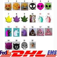 bank funny - Emoji Power Mobile mah Funny Cute Emoji Unicorn Shaped Power Bank Plastic Mobile Cartoon Power Bank For Mobile Phone XL P164