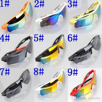 Wholesale Super Bargain FashionCycling Eyewear Cycling Bicycle Bike Sports Protective Gear R Glasses Colorful
