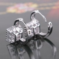 best hoop earings - Fashion Wedding Hoop Earrings K White Gold Plated Jewelry Earings Engagement Earring Women Best Gift E302a