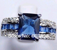 amazing gps - cheap AMAZING NATURAL CT SAPPHIRE K GP WOMEN RING