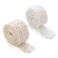 Wholesale 1pcs Beautiful Design Yards Cotton Embroidered Lace Fabric Trim Edge Ribbon Sewing Gift Crafts Decoration M