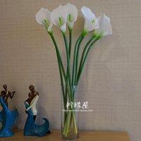 Wholesale Long branch Calla Daisy rose glass vase set room simulation flower decoration floral table