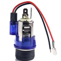 Wholesale 12v Illuminated Car Cigarette Cigar Lighter Accessory Socket universal Power