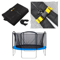 Wholesale 14 Trampoline Enclosure Net Replacement Netting Arch Poles Exercise Safety