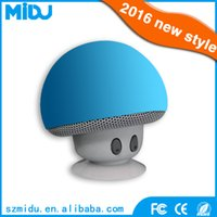 Wholesale M B3 silicone material Subwoofer mushroom mini portable mobile phone bluetooth speaker waterproof wireless speaker support
