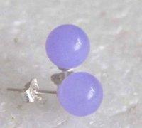 alexandrite stud earrings - Fashion New mm Alexandrite Jade Round Sterling Silver Stud Earrings