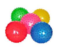 Wholesale Top seller Baby foot massage roller massage ball inflatable toy ball Massager Properties knobby massage ball