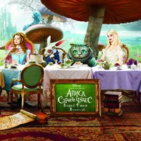 alice photo - Fantasy Custom HD photo D wallpaper for walls D kids room Bedroom TV background wall covering Alice in Wonderland wall mural wallpaper