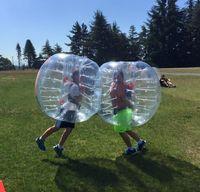 Wholesale m mm TPU inflatable bubble soccer bubble football bubble sports bumper ball knocker ball on sale