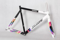 Wholesale fixed gear frame fork smooth welding frame invisible welding frame c