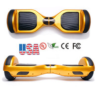Wholesale UL CE ROHS FCC2016 New Hoverboard Inch Two Wheels Electric Scooters Smart Balance Wheel Drifting Board Self Balancing Scooter Skateboard
