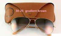 Wholesale 2016 women sunglasses eyes outdoors sports face glasses vintage gold gradient brown lenses