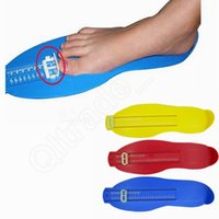 Wholesale LJJG199 Foot Measuring Gauge Baby Adult Foot Length Measurement Child Shoe Measure Tool Convenient Measuring Instrument