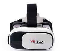 Wholesale Google Cardboard VR BOX II Smartphone Headset D Virtual Reality Glasses Helmet Goggle Oculus Rift DK2 Head Mount