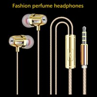 apple perfumes - 2016 New Fashion Perfume Universal IN Ear headphones JY Earphone with MIC Earphones Mobile Headset for Android IOS with retail packing
