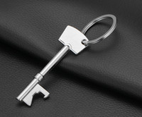 Wholesale Beer Opener Key Ring Portable wine bottle can opener keychain metal jar bottle openers for wedding outdoor camping tools