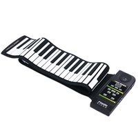 Wholesale PN88S Keys Tones Rhythms Electronic Flexible Roll Up Piano USB MIDI Port with Speaker for Children
