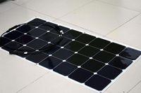 Solarparts 1x 100W Fexible панель солнечных батарей 12V комплект солнечных батарей Модульная система DIY яхта лодка морской RV зарядки аккумулятора США на открытом воздухе