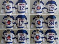 baseball hoody - Cubs hoodies Baseball jerseys hoody Chicago SCHWARBER CASTRO BRYANT LESTER RIZZO ARRIETA DROP freeshipping