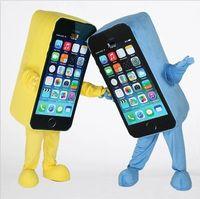 Wholesale Mobile phone mascot costume Adult size Mobile phone mascot costume