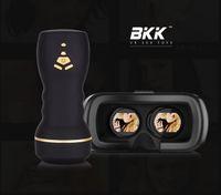 sextoy - 3D VR Glasses Stroker with sextoy BKK Virtual Reality Sex Toy