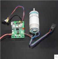 Wholesale 12V24V DC motor speed regulator W motor positive inversion double control variable speed switch electronic voltage regulator