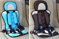 Wholesale Portable children chair car child safety seats baby safety seat in the Car Updated Version Kids Seats for Russia