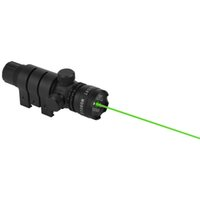 Wholesale 1set Optical Sight Hunting Optics Scope Mount Green Laser Sight V Black Flashlight