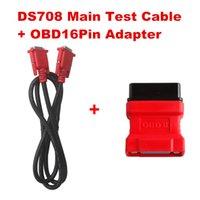 Wholesale Original Autel MaxiDAS DS708 Main Test Cable OBD16Pin Adapter Autel Diagnostic tools OBD Cable