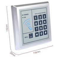 Wholesale home office apartment Access Control system RFID Max ID card password entry outdoor keyboad